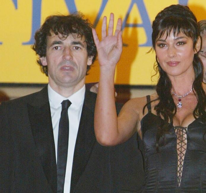 Albert Dupontel and Monica Bellucci at the screening of