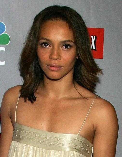 Carmen Ejogo at the NBC All-Star Event.