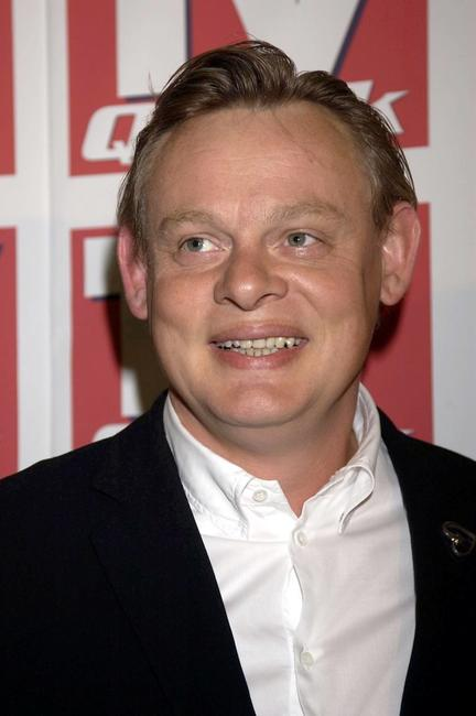 Martin Clunes at the TV Quick awards.