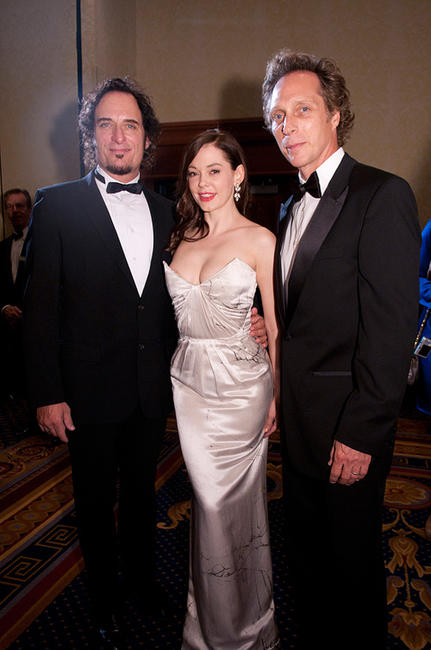 Kim Coates, Rose McGowan and William Fichtner at the 2010 USO Gala in Washington DC.