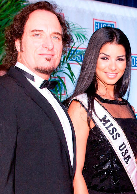 Kim Coates and Miss USA Rima Fakih at the 2010 USO Gala in Washington DC.