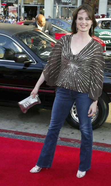 Sprague Grayden at the premiere of