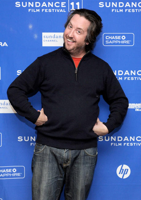 Steve Little at the premiere of
