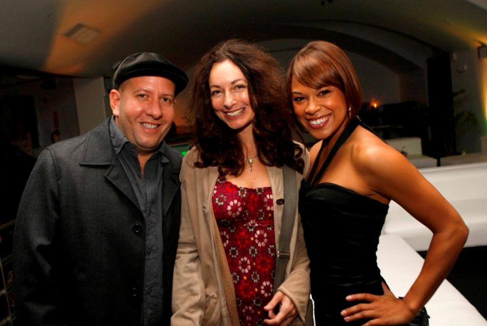 Steve Pink, Pam Knoll and Toni Trucks at the 5th Annual Columbia College Chicago Impact Awards 2007.
