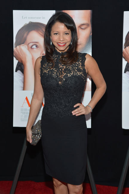 Gloria Reuben at the New York premiere of
