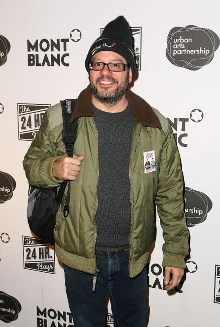 David Cross at the after party of the opening night of 8th Annual 24 Hour Plays on Broadway.