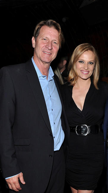 Brett Cullen and Vinessa Shaw at the after party of