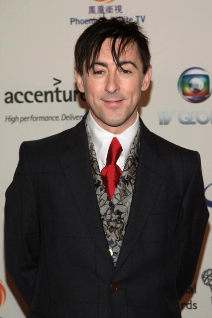 Alan Cumming at the 35th International Emmy Awards Gala.