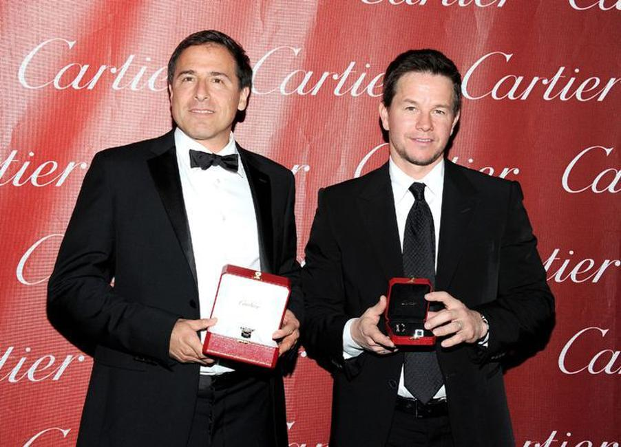 David O. Russell and Mark Wahlberg at the 22nd Annual Palm Springs International Film Festival Awards Gala.