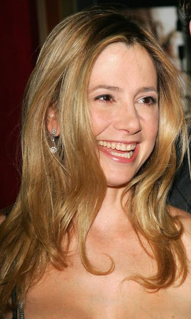 Mira Sorvino at the premiere of