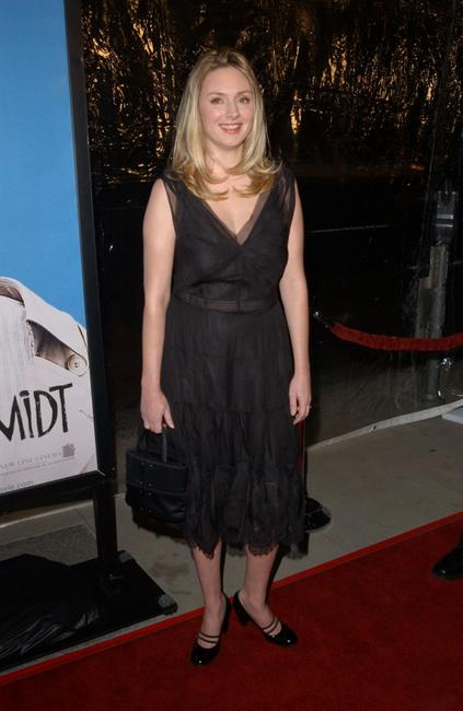 Hope Davis at the Los Angeles premiere of