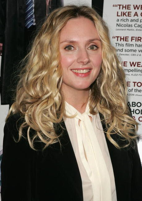 Hope Davis at the N.Y. premiere of