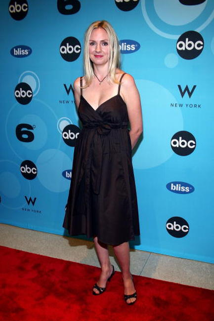 Hope Davis at the premiere of ABC Television Network's