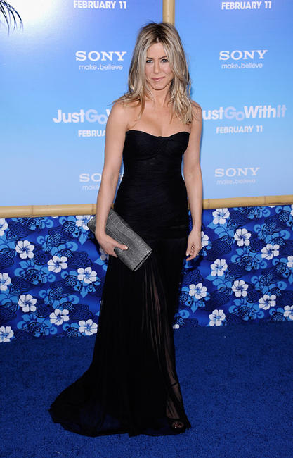 Jennifer Aniston at the New York premiere of