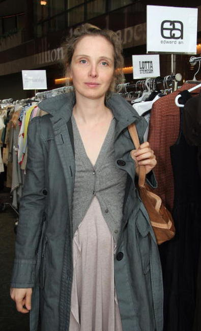 Julie Delpy at the ''Billion Dollar Babes Premiere Design Sample Sale'' at Sony Studios.