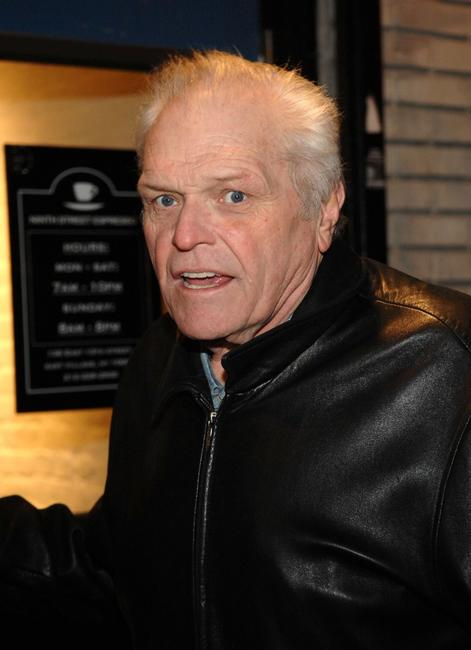 Brian Dennehy at the opening night of A Spanish Play.