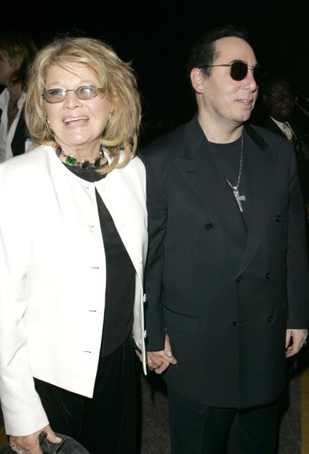 Angie Dickinson and David Gest at the Dionne Warwick 45th Anniversary Spectacular after party.
