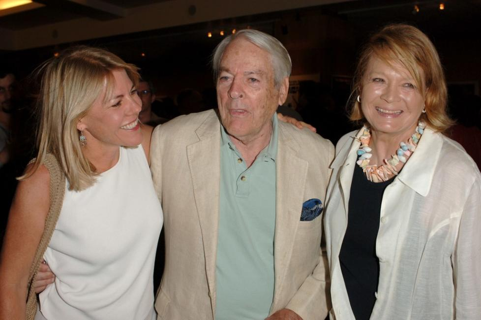 Angie Dickinson, Lillah McCarty and Kevin McCarthy at the Academy of Motion Picture Arts and Sciences Salute to Don Siegel.