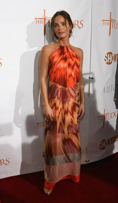 Gabrielle Anwar at the premiere screening of Showtime's