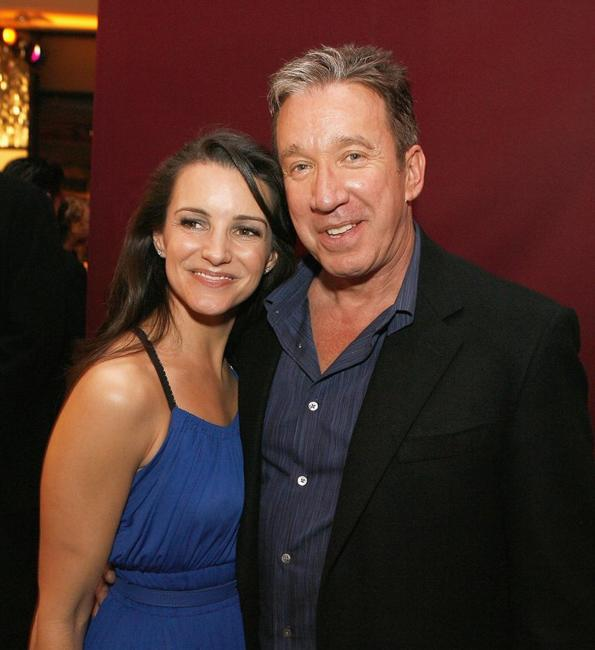 Tim Allen and Kristin Davis at the Los Angeles premiere of