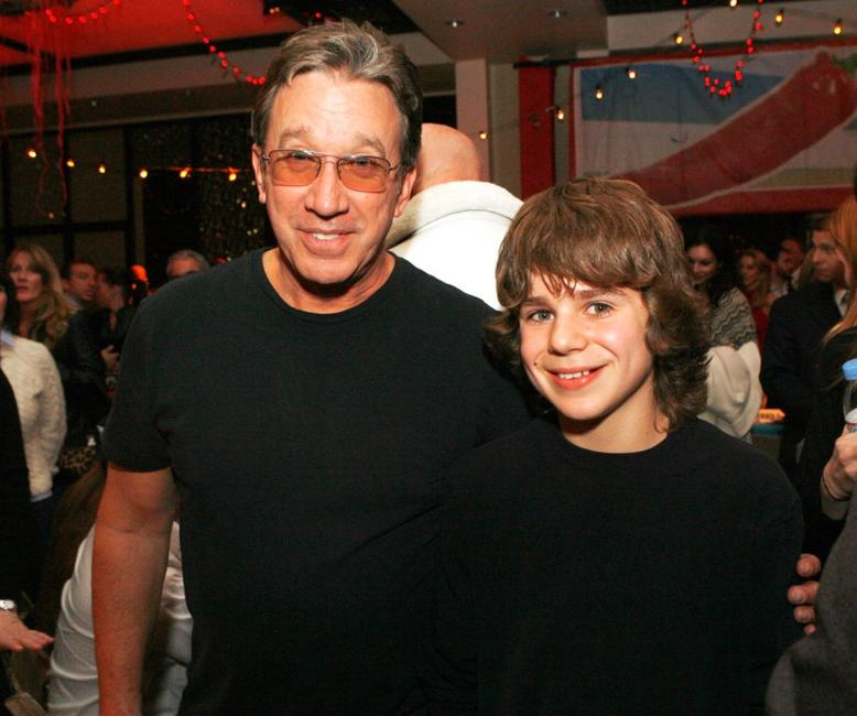 Tim Allen and Dominic Janes at the Los Angeles afterparty premiere of