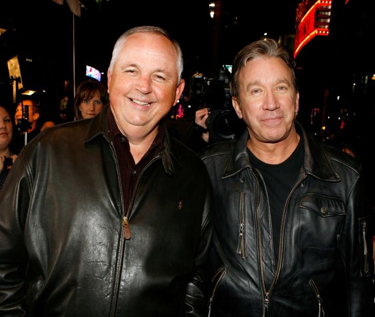 Tim Allen and Dick Cook at the Los Angeles premiere of