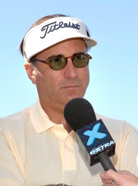 Andy Garcia at the 9th annual American Film Institute Golf Classic.