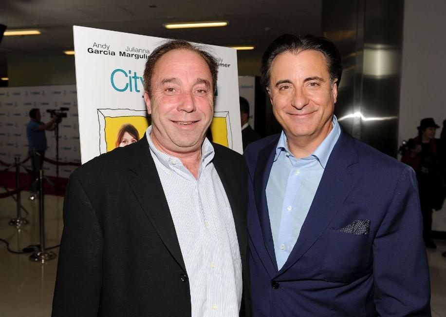 Bill Clark and Andy Garcia at the California premiere of