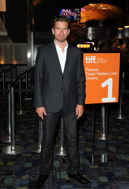 Nikolaj Lie Kaas at the premiere of