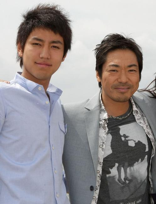 Yu Koyanagi and Teruyuki Kagawa at the cast photocall of