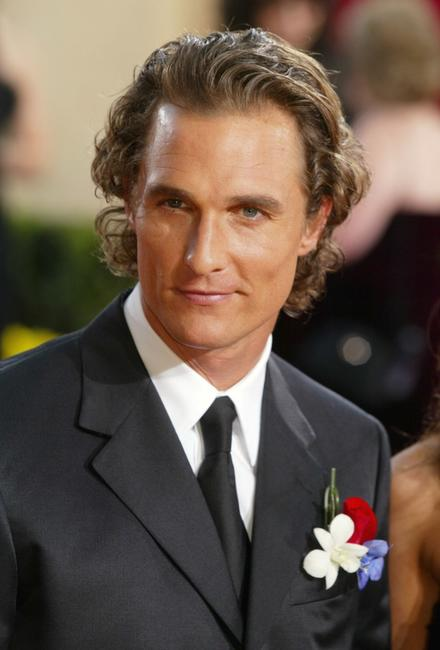 Matthew McConaughey at the 75th Annual Academy Awards.