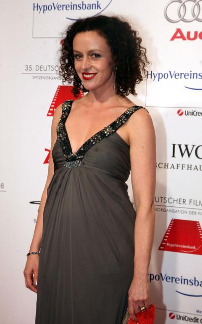 Maria Schrader at the German film ball.
