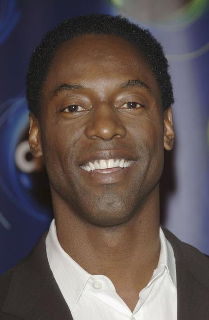 Isaiah Washington at the ABC Winter Press Tour All Star Party.