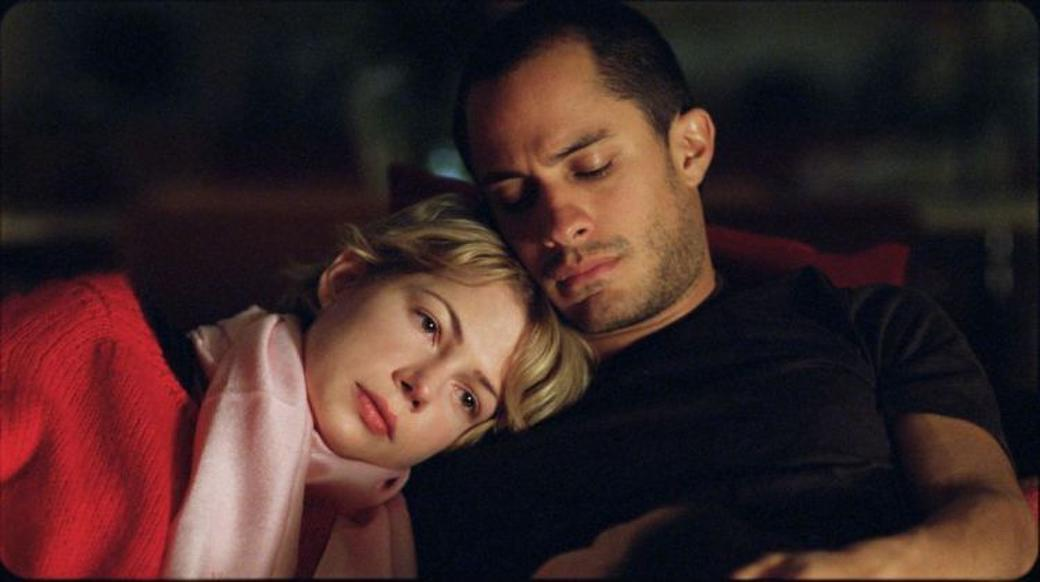 Michelle Williams as Ellen and Gael Garcia Bernal as Leo in