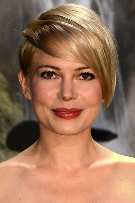 Michelle Williams at the London premiere of