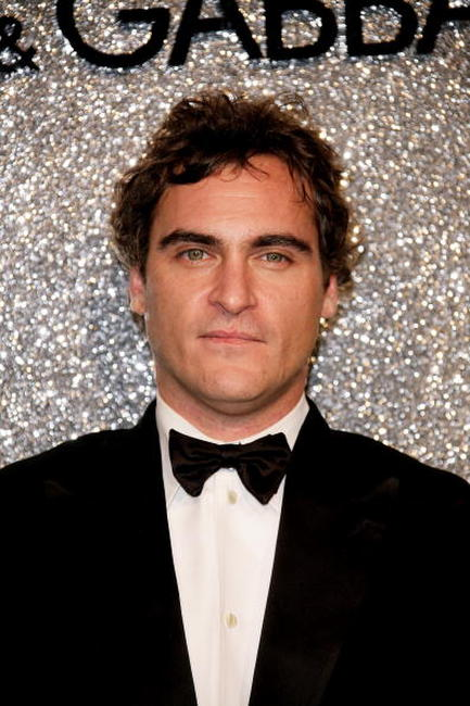 Joaquin Phoenix at the Dolce & Gabbana Party during the 60th International Cannes Film Festival.