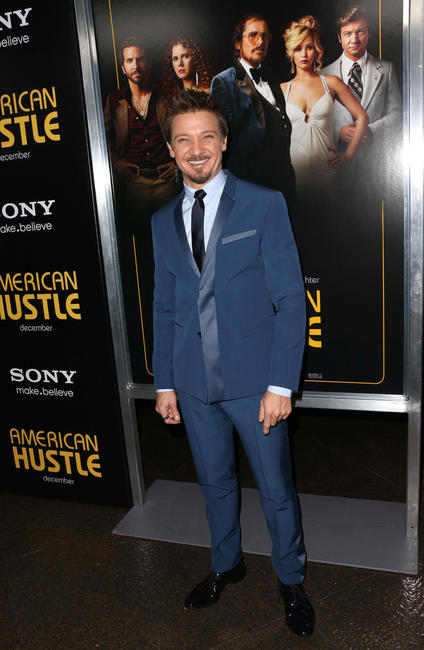 Jeremy Renner at the Los Angeles premiere of
