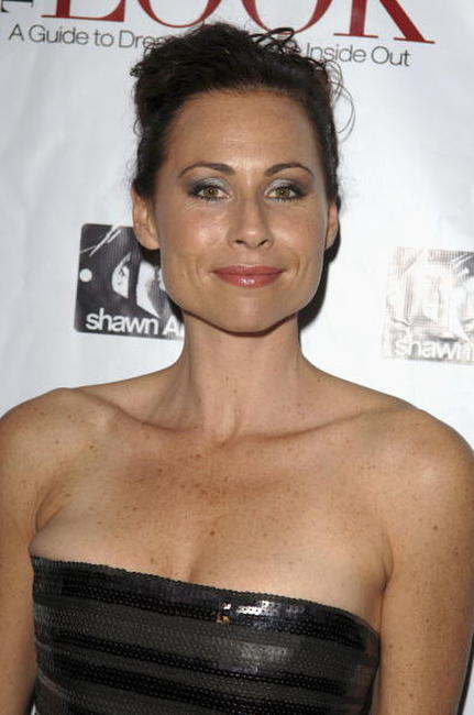 Minnie Driver at the book launch party of Randolph Duke.