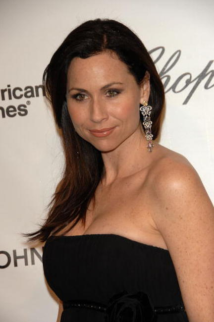 Minnie Driver at the 16th Annual Elton John AIDS Foundation Academy Awards.