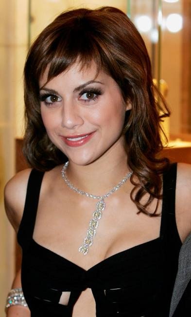 Brittany Murphy at the London department store Harrods Summer Sale.