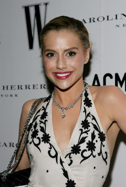 Brittany Murphy at the Inaugural Avant-Garde Gala.