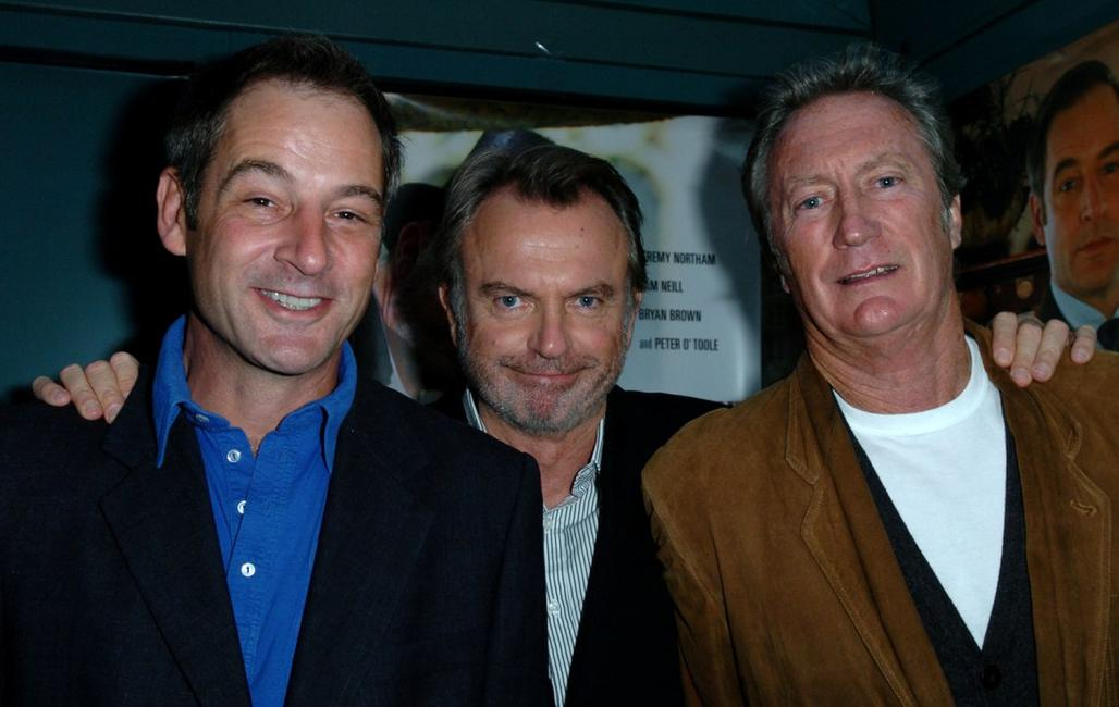 Jeremy Northam, Sam Neill and Bryan Brown at the 2008 Toronto International Film Festival.