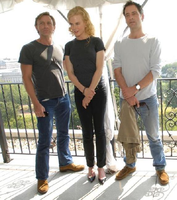 Daniel Craig, Nicole Kidman and Jeremy Northam at the press conference to promote