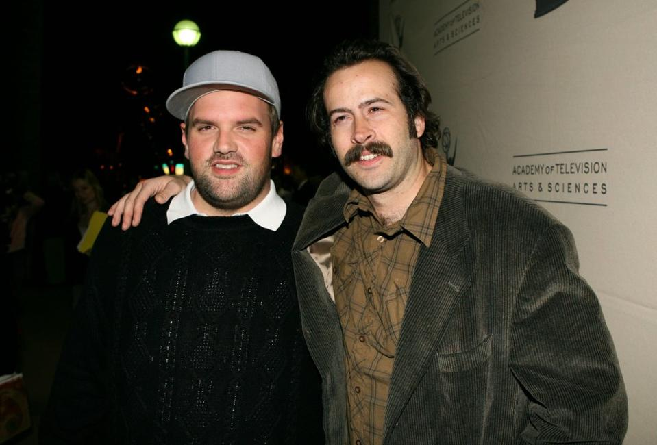 Ethan Suplee and Jason Lee at the Evening with