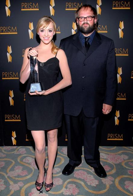 Andrea Bowen and Ethan Suplee at the 11th Annual Prism Awards.