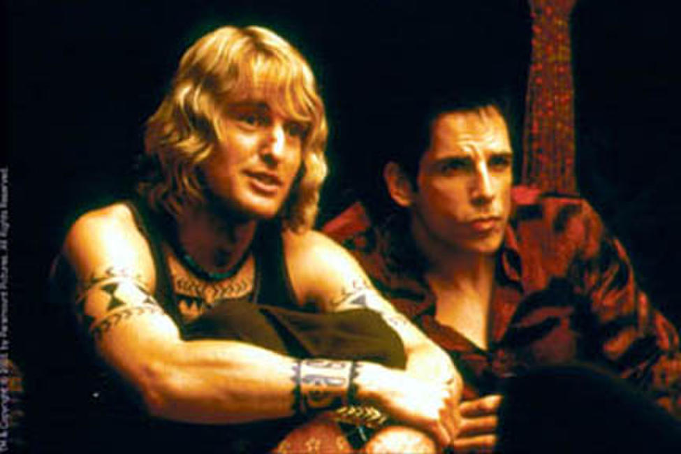 Owen Wilson as Hansel and Ben Stiller as Derek in Paramount's Zoolander.