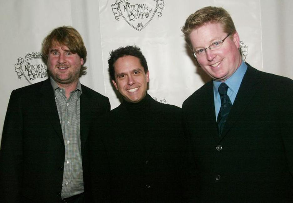 Graham Walters, Lee Unkrich and Andrew Stanton at the National Board of Review of Motion Pictures 2003 Annual Awards Gala.