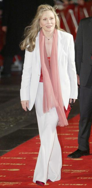 Faye Dunaway at the Goldene Kamera Film Awards.