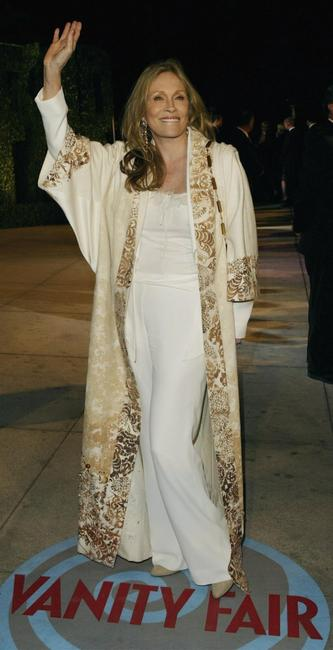 Faye Dunaway at the 2004 Vanity Fair Oscar Party.