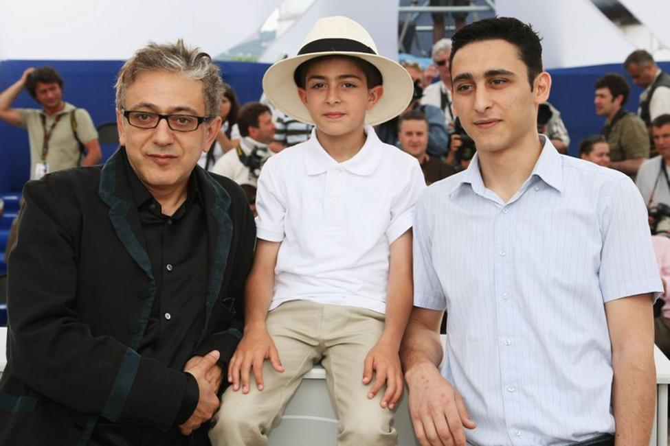 Elia Suleiman, Zuhair Abu Hanna and Ayman Espanioli at the 62nd International Cannes Film Festival.
